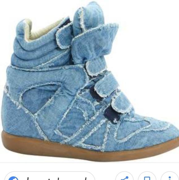 9bb1bfa792 Isabel Marant Shoes - Isabel Marant Denim Beckett Sneakers